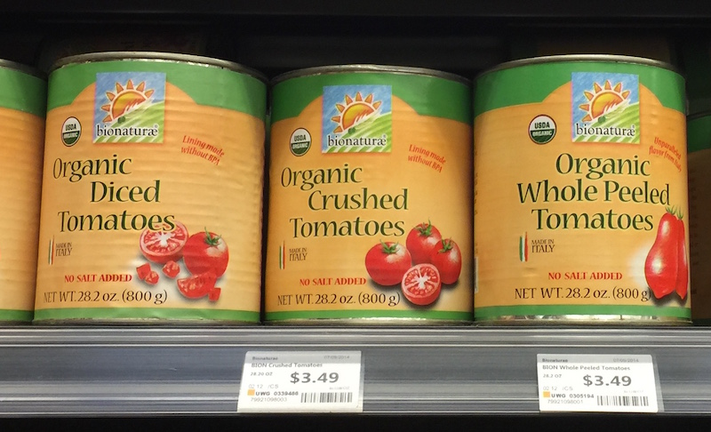 Citric Acid Free Canned Tomatoes