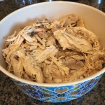 Crockpot Roasted Chicken and Broth